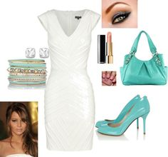 """""""Something Blue Bridal Shower"""" by notoriousarp on Polyvore"""