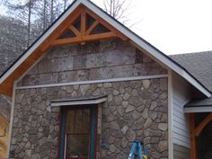 bark siding | Shadowood – The Sutton's Home » Blog Archive » More painting ...