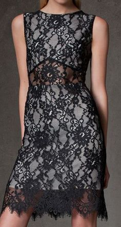 ALEXIS Kruse Lace Overlay Dress