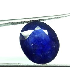 9.981 Ct.Certified Natural Blue Sapphire Oval Cut loose Gemstone BS 12-1573 #RidhimaGems