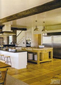 53 Best Farm Exposed Beams Kitchen