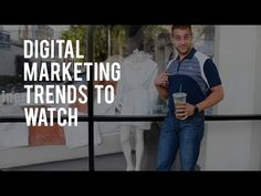 Looking for the latest in digital marketing for your business? In this week's vlog, Austen talks trends that are here to stay! LEARN MORE Digital Marketing i. Digital Marketing Trends, Seo Company, Watch, Learning, Business, Clock, Bracelet Watch, Studying, Clocks
