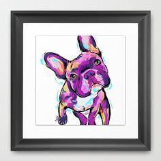 Bulldog Francés por CartoonYourMemories en Etsy