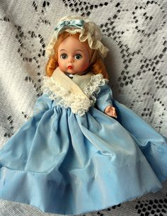 Your place to buy and sell all things handmade Blue Gown, Madame Alexander Dolls, Hello Dolly, Collector Dolls, Look Alike, Vintage Dolls, Little Girls, Two By Two, Barbie