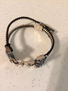 $25 Zipper bracelet by DarciejsCrafts on Etsy