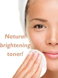Face brightening toner! Reduces the size of pores, brightens face, reduces inflammation, and helps with acne: http://positivemed.com/2013/05/01/natural-face-toner/