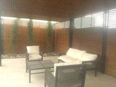 PERGOLAS Y QUINCHOS Backyard Kitchen, Outdoor Kitchen Design, Patio Design, Backyard Patio, Outdoor Sofa, Outdoor Furniture Sets, Outdoor Decor, Blessed Mother, Bbq