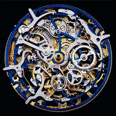 The inner workings of a watch - Guido Mocafico - looks like a beautiful steampunk sculpture