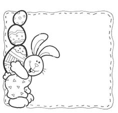 Tarjeta blanco y negro Easter Bunny, Easter Eggs, Crafts To Do, Arts And Crafts, Mermaid Clipart, Chocolate Bunny, Easter Crafts, Paper Art, Card Making