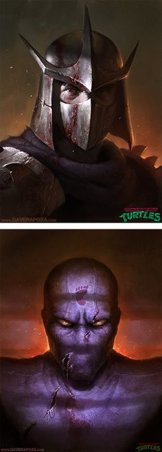 Teenage Mutant Ninja Turtles By Dave Rapoza | Inspiration Grid | Design Inspiration