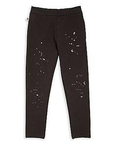Armani Junior Little Boy's & Boy's Splatter Detail Pants