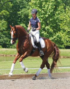 Learn the true meaning of forward and how to use it in your dressage training.