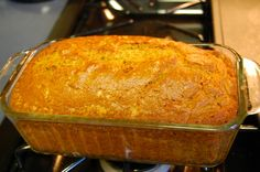 Pumpkin Bread recipe- It's in the oven right now and smells wonderful!