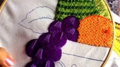 24.- bordado fantasía puntada para uvas