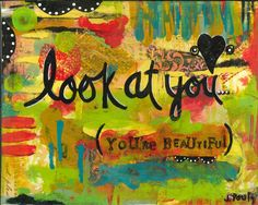 soulful art, gypsy art, word art, empowerment art, inspirational art, think positive, beautiful, you are beautiful, positive vibe, stay true - pinned by pin4etsy.com