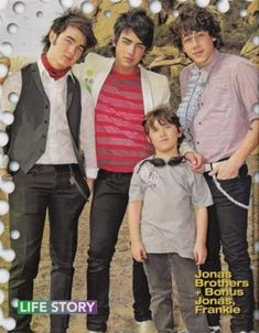 You are not the random little brother left out of your older brothers' extremely successful boyband.
