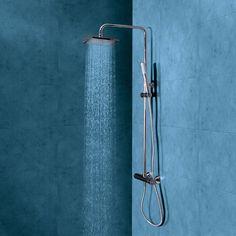 Conjunto de ducha para baños principales con grifería termostática Star rain