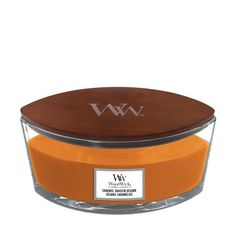 WoodWick Caramel Toasted Sesame Hearthwick Jar Candle - Jar Candles - Candles Wood Wick Candles, Jar Candles, Candle Wax, Candle Companies, Jaba, Wax Melts, Dog Bowls, Toast, Candies