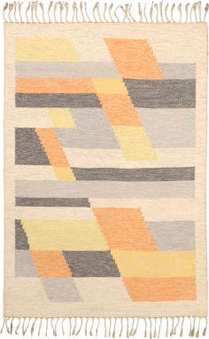 20th Century Swedish Flat Weave Carpet
