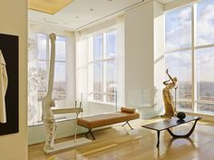 SEE THE BRIGHT INTERIOR OF A TRUMP WORLD TOWER APARTMENT