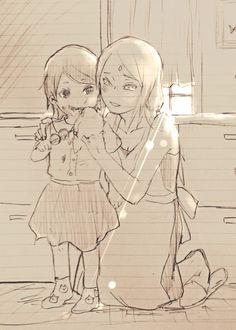 Sarada and Sakura #Naruto