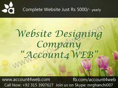 Account4WEB || Web Hosting in Pakistan.: Web Hosting In Cheap Prices And Domain Name Regist...