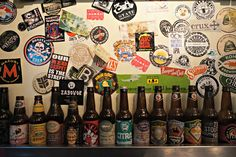 Opt for an American craft beer at the rough and ready BeerTemple © Claire Bissell / Lonely Planet