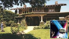 """The Craftsman House Featured in the Movie """"Zathura"""""""