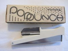 Toyota Hand Card Punch for Knitting Machines