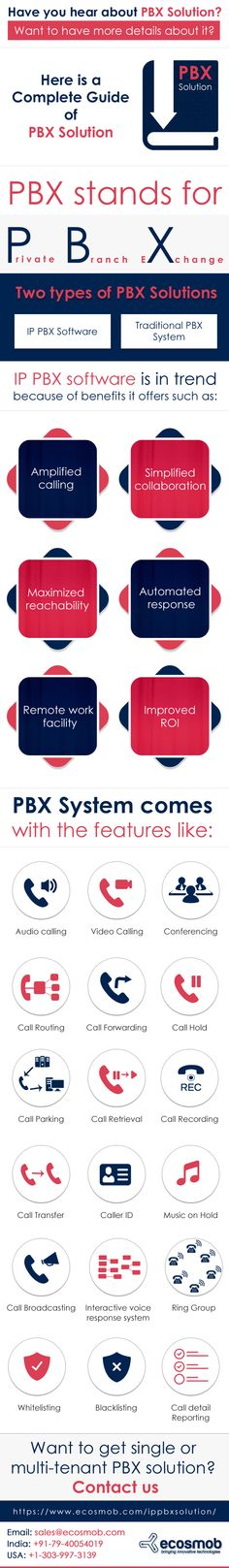 PBX Solution can benefit you in many ways. How? Have a look at this infographic:   #PBX #IPPBX #VoIP