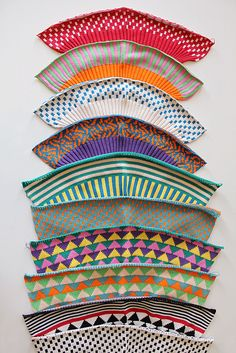 dudesthatknit:  Knit Inspiration:  Before They Were Hats by ALL Knitwear Could you imagine these prints on a larger scale?