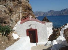 An amazing little chapel (Panagia Kavouradaina) in Leros island ~ Greece