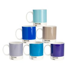 i think i might need these!   Sip in style with these PANTONE mugs. each set of six contains: 7461C, 630C, 5285C, 7672C, 2728C, Warm Gray 8 C