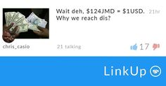 Wasn't it $115 last year?  The discussion is live on LinkUp. Download it: http://ift.tt/1TmtEfH  Shout out to user chris_casio for the hot post.  #jamaica #brandjamaica #madeinjamaica #jamaican #proudjamaican #proud876 #jamaica2016 #teamjamaica #yardie #onlyinjamaica #jamaicansbelike #kingston #linkup #getthere #caribbean by linkupja