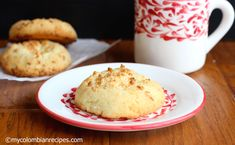 Garullas ( Colombian Corn-meal and Fresh Cheese Bread) |mycolombianrecipes.com