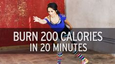 200 calories in 20 minutes, no equipment. Great vacation workout.
