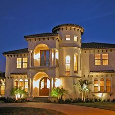 Exterior Design Ideas, Pictures, Remodels and Decor Florida Style, California Style, Luxury Homes Exterior, Exterior Design, Villa Design, House Design, Design Homes, House Front, My House