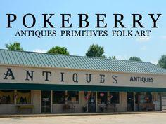 Pokeberry Antiques - Home of Larry Ledford Folk Art