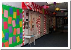 she has the coolest ideas for classroom decor and bulletin boards!