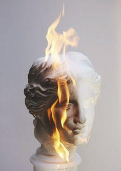 Le plus récent Aucun coût Sculpture & statues Style Leo Valdez, The Secret History, Fantasy Kunst, Vaporwave, Aesthetic Wallpapers, Art Inspo, Mythology, Sculptures, Sculpture Head