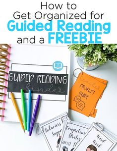 , How to Get Organized for Guided Reading with a FREEBIE - Mrs. Richardson's Class , Get organized for guided reading with this easy to assemble guided reading binder! Be sure to snag the guided reading free printable to quickly plan y. Guided Reading Binder, Guided Reading Organization, Guided Reading Activities, Guided Reading Lessons, Guided Reading Groups, Reading Resources, Reading Strategies, Teaching Reading, Teaching Tips