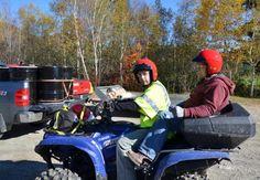Battery acid gel — 68 pounds — spills on top of Ragged Mountain | PenBay Pilot