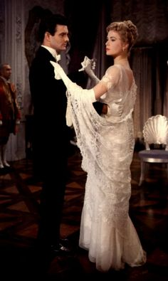Louis Jourdan & Grace Kelly in The Swan... Perhaps the most romantic celebrity pairing ever.
