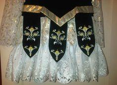 Close up of Medieval Glory dress hem