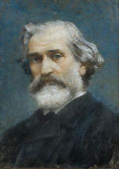Francesco Paolo Michetti  Ritratto di Verdi,1887  Museo di Casa Barezzi, Busseto