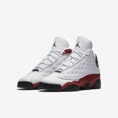Air Jordan 13 Retro - White/True Red/Cool Grey/Black Jordan 13, Michael Jordan, Modern Fashion, Nike Air Force, Air Jordans, Winter Fashion, Sneakers Nike, Boots, True Red