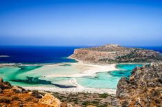 Balos, famous for its turquoise waters, the wild natural beauty and the beautiful exotic scenery, is surely the most famous and most photographed beach in Crete. #Balos #Crete #Greece #Thisisgreece #travel #путешествовать #旅行する #旅行 #여행하다 #destination #tourism #beautiful #photography #Greek #island #love #happy #nature #me #beauty #fun #lifestyle #photo #life #summer #sea #beach #sand #sun #swim #sunbath #turquoise #wild #natural #exotic #scenery #famous #followforfollow #follow4follow  Skiathos, Spain Destinations, Amazing Destinations, Mykonos, Popular No Instagram, Balos Beach, Best Greek Islands, Best Swimming, Creta