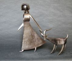 Jean-Pierre Augier, 1950 | Metal Art sculptures