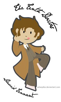 I haven't made it to the Matt Smith years yet, but I'm pretty sure David Tennant will always be my fave Doctor...