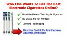 Cheap Electronic Cigarettes  Upto 80% Cheaper Than Regular Cigarettes